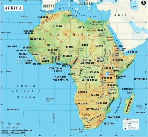 Africa 非洲
